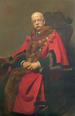 Sir Ernest Shentall, JP, Mayor of Chesterfield (1913–1919)