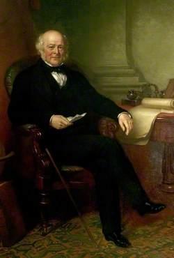 Richard Barrow (1787–1865), Owner of Staveley Coal & Iron Co. (1840–1864), Chairman (1864–1865)