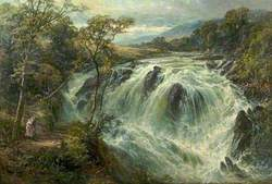 The Swallow Falls, Betws-y-Coed