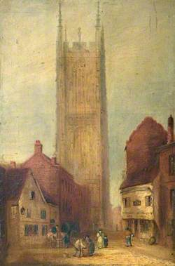 All Saints' Church Tower, Queen Street, Derby