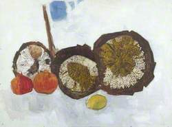 Still Life, Sunflowers and Fruit