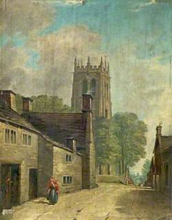 Youlgreave Church from Conksbury Lane, Derbyshire
