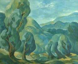 Landscape with Trees*
