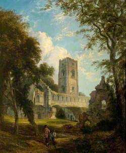 Fountains Abbey, Yorkshire*