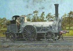 Bristol & Exeter Railway 2–2–2T Locomotive No. 34