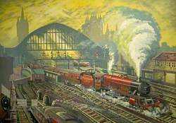 St Pancras, London, in the Late 1930s