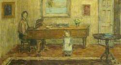 At the Piano