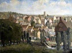 View of Axminster, Devon*