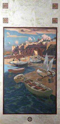 Appledore Shore with Boats, Devon