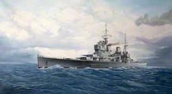 HMS 'Thunderer' Lion Class, 1939