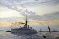 HMS 'Thunderer' Orion Class, 1912