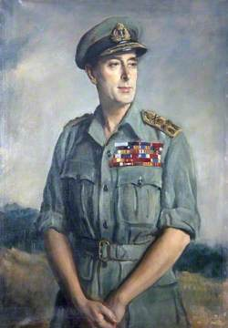Admiral of the Fleet Earl Viscount Mountbatten of Burma (1900–1979), KC