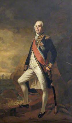 Admiral James Saumarez (1757–1836), 1st Baron de Saumarez
