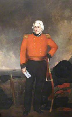Arthur Howe Holdsworth (1780–1860), Governor of Dartmouth Castle (1807–1857)