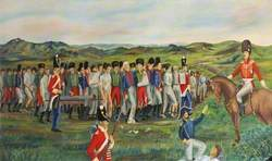 French Prisoners of War Being Transported across the Moors on the 24 May, 1809