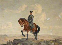 Mounted Prison Patrol Officer on Dartmoor