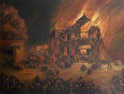 The Burning of the Theatre Royal, Exeter, 3 September 1887