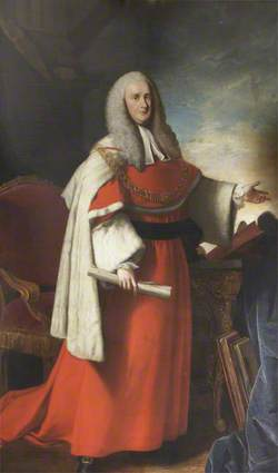Sir Charles Pratt (1714–1794), Lord Chief Justice of the Common Pleas