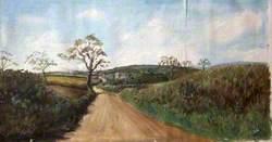 Lane to Littleham, Exmouth, Devon