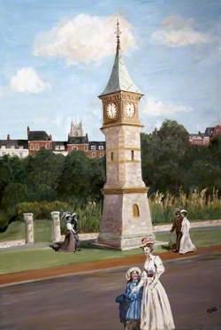Clock Tower, Exmouth, Devon