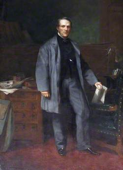 Right Honourable William Nathaniel Massey (1809–1881), MP for Tiverton (1872–1880)