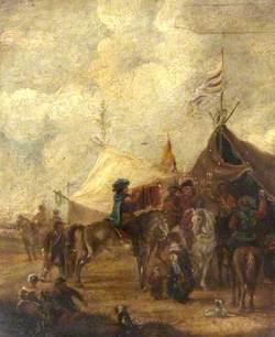 A Cavalry Camp