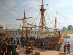 The 'Prudence' Prize at Barnstaple Quay, 1590