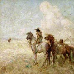 The Bison Hunters