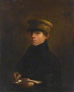 Portrait of a Boy in a Boating Cap