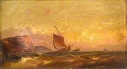 Sunset on the Devonshire Coast
