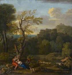 Landscape with Angelica and Medoro