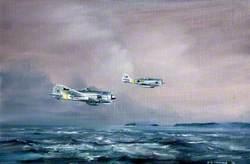 Focke-Wulf German Aircraft Approaching Teignmouth