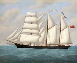 The Barque 'Eldra'