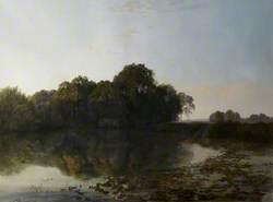 Pastoral Scene, River Scene