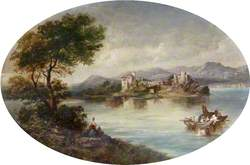 Castle with a Lake