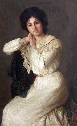 Miss Bertha Salter, Singer from North Devon
