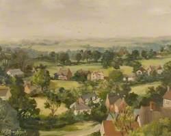 Ibberton from Bulbarrow Hill, Dorset