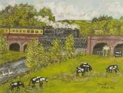 Blandford Railway Viaduct, Dorset