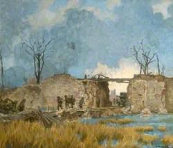 Lille Gate, Ypres, Belgium, First World War