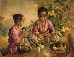 Eastern Children Playing