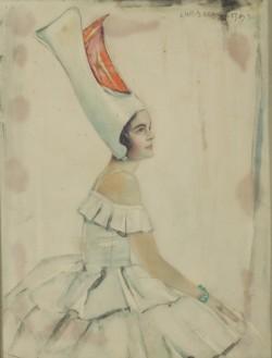 Lady in Fancy Dress