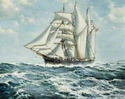 The Fowey Barquentine 'Waterwitch' off Dover