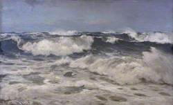 A White Gale off the Coast of Cornwall