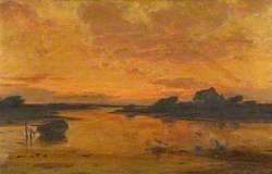 Towards Sunset, near Southampton Water