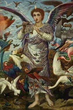 'O all ye fowls of the air bless ye the Lord'