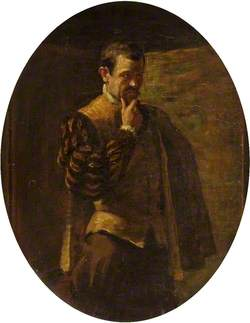 Frank Tyars (1848–1918), as Borachio
