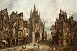 St Maclou, Rouen, Normandy, France