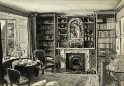 Interior of Ruskin's Study