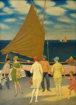 Fishermen and Visitors