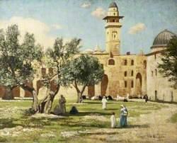 Temple Area in Jerusalem